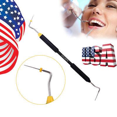 Dental Endo Buchanan Hand Plugger Tip Sybronendo Niti Fill Obturation Yellow #0 2