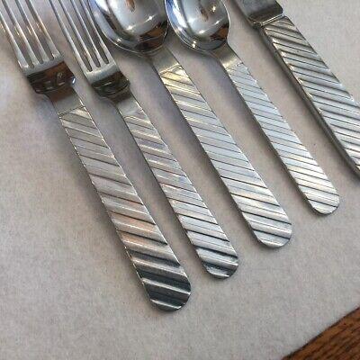 Stanley Roberts Zebra Stainless Flatware Dinner Fork