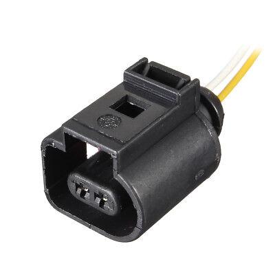 2x 2-pol Reparatursatz konfektioniert Elektrik Stecker Für VW /Audi 1J0973702