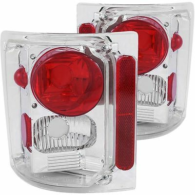 FLEETWOOD EXCURSION 2005 2006 2007 BLACK TAILLIGHTS TAIL LIGHTS LAMPS RV PAIR
