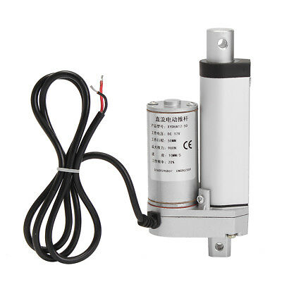 Linear Actuator 500-1500N 50-300mm Electric Motor 12V DC for Auto Door 5