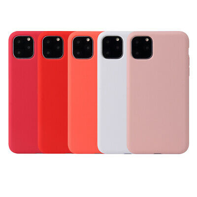 Case For Apple iPhone 11 Pro Max XS Max XR X 8 7 6 6s Plus Silicone Slim Cover 11