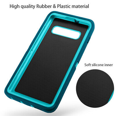 Samsung Galaxy S10+ S9 Note 8 9 Case Shockproof Hybrid Rubber Armor Rugged Cover 5