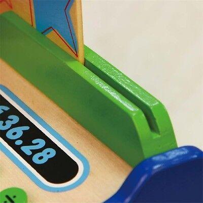 Kaufläden & Zubehör Kinderkasse aus Holz Holzkasse für Kaufmannsladen Spielkasse Kasse Kaufladen Geräte