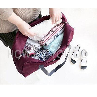 Portable Foldable Travel Storage Luggage Carry-on Big Hand Shoulder Duffle Bag 5