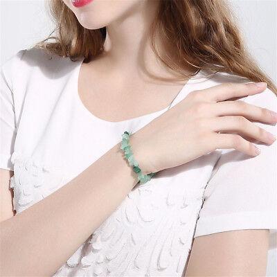 Charme Reiki Guérison Bracelets Pierre Cristal Puce Perlé Bracelet Cadeau 4