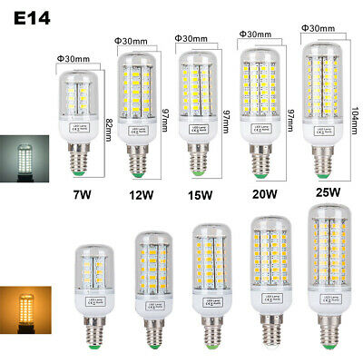 E27 E14 B22 G9 LED Maïs Ampoule 5W 8W 15W 20W 25W SMD5730 Blanc Chaud/Froid 220V 4