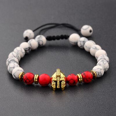 Men Women 8mm Natural Round Gemstone Bead Handmade Beads Bracelets Charm Jewelry 6