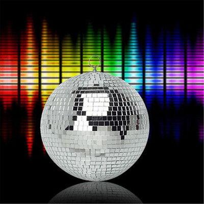 Mirror Glass Ball Disco DJ Stage Lighting Effect Party Home Decor Xmas 4-10cm 5