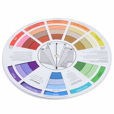 Set Of 2 Pocket Colour Wheel Tool Mixing Paint Learning Artist Kids Guide 6