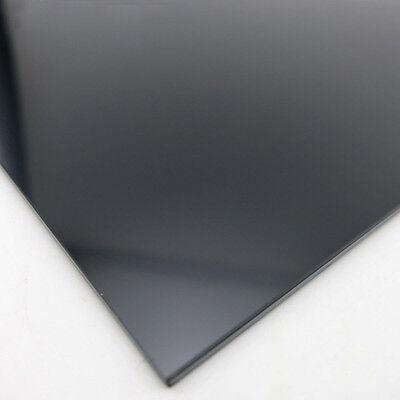 ABS Styrene Plastic Flat Sheet Plate 0.5mm x 200mm x 200mm white 1pcs