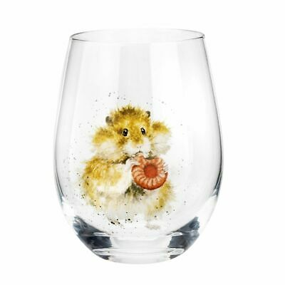Royal Worcester Wrendale Designs Assorted Domestic Pet Tumblers Set of 4 2