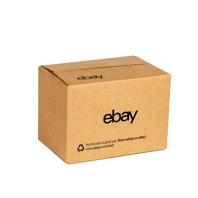 "NEW EDITION eBay-Branded Boxes With Black Color Logo 8"" x 6"" x 4"" 3"