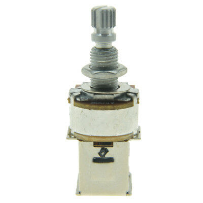 KAISH A500K Guitar Bass Push Push Pot(No Pull) Audio Taper Guitar Potentiometer