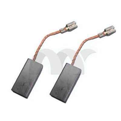 2 Pcs Carbon Brushes for Bosch GWS 8-125C GFF22A GWS6-100 1607014144 1607014145