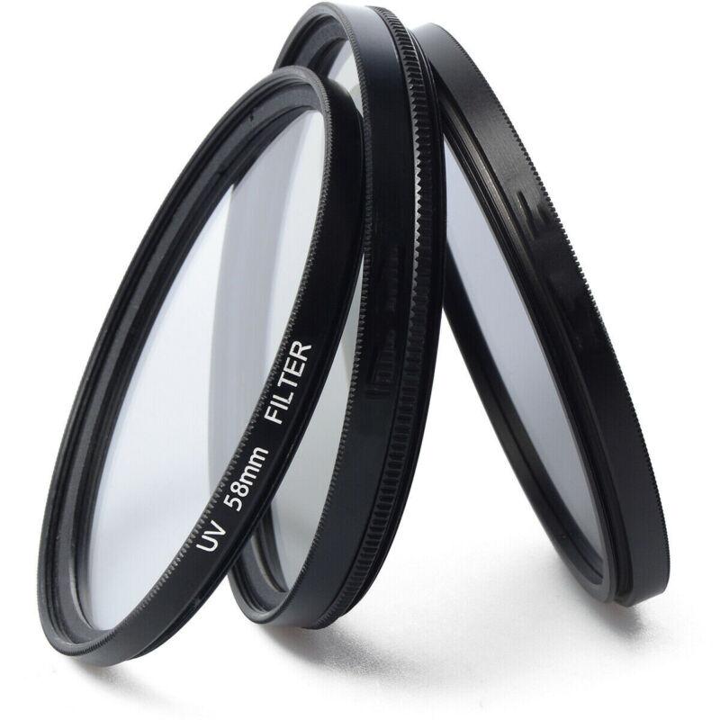 Ultra Slim Lens Ultra-Violet UV Filter Protector For Camera Canon 52/58/62/67mm 4