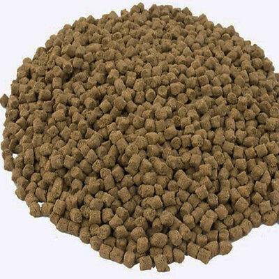 Aquatechs sturgeon food pellets 2mm,4mm,6mm or 8mm 15Kg low oil sturgeon feed 2