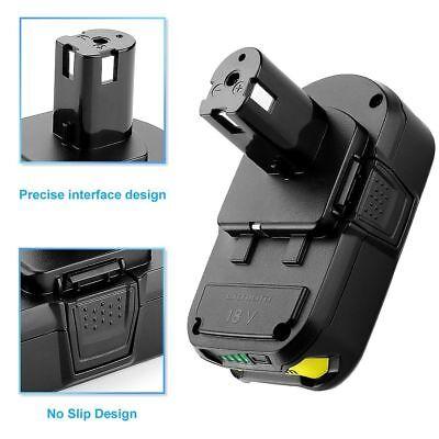For RYOBI P107 2.5Ah 18V battery ONE+ MAX P104 Lithium P108 P105 P103 P102 P106 2