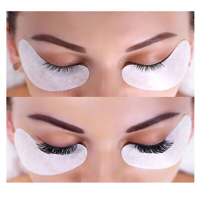 Salon Eyelash Lash Extensions Under Eye Gel Pads Lint Free Patches Make Up Tools 2