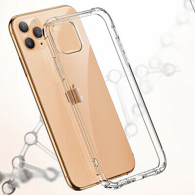 CLEAR Case For iPhone 11 Pro Max XR X XS Max 7 8 Plus Cover Shockproof Silicone 4