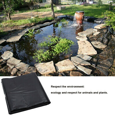 11 Sizes HDPE Fish Pool Pond Liner Gardens Membrane Reinforced Pools Landscaping 3