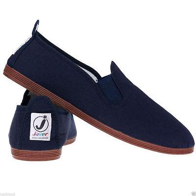 Ladies Women's  Javer Flossy Style  Plimsolls Espadrilles Flat Shoes New 9