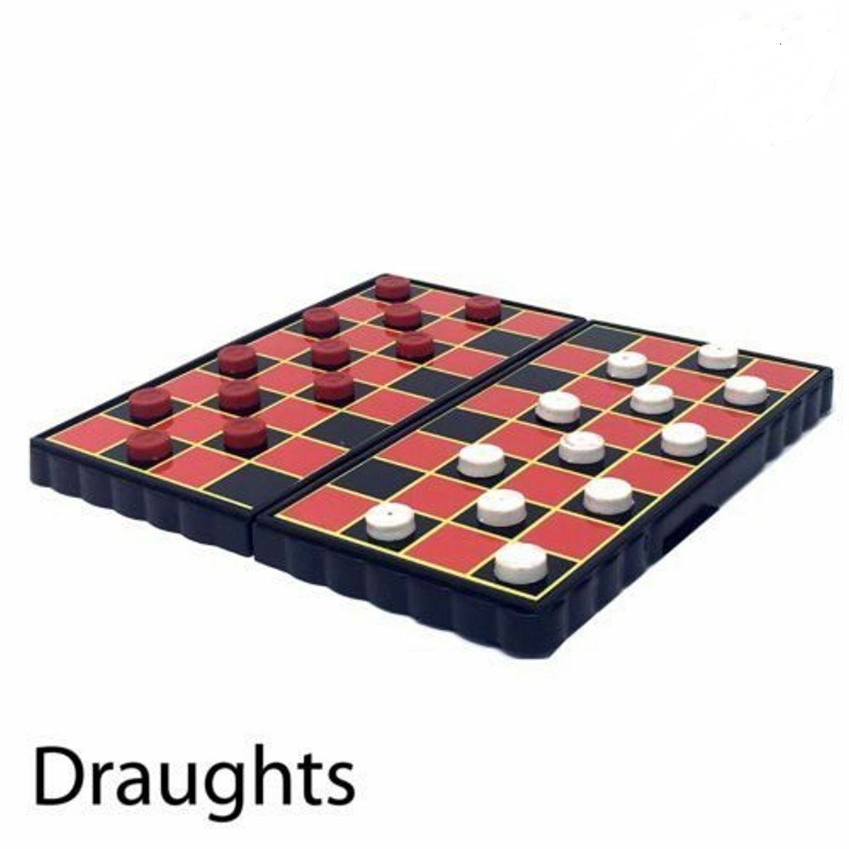 Magnetic Travel Board Games set of 4 - snakes & ladders, ludo, chess, draught 3