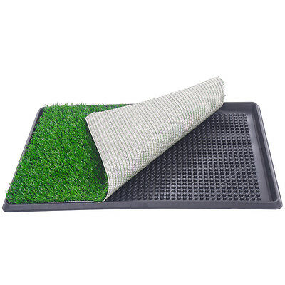 "30""x20"" Dog Toilet Pet Puppy Potty House Training Indoor Trainer Grass Mat 4"