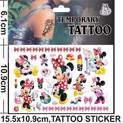 300c2e250cb7b ... NEW Kids Temporary Tattoos Stickers Avengers Dora Batman Spider Man  Sofia Pony 4