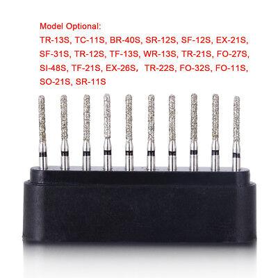 Dental Super Coarse Diamond Burs Drills 20 Types for High Speed Handpiece AZDENT 4