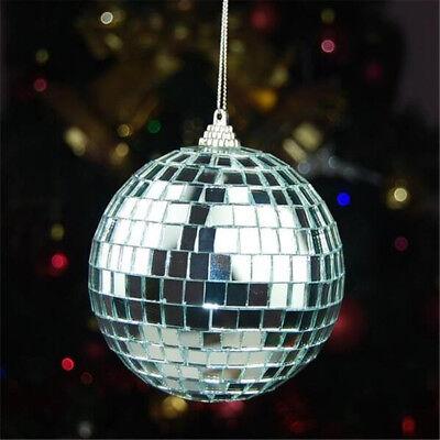 Mirror Glass Ball Disco DJ Stage Lighting Effect Party Home Decor Xmas 4-10cm 7