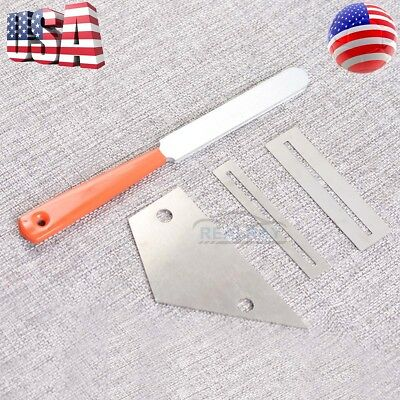 Guitar Fret Crowning Luthier File Leveling Grinding Tool Kits Guitar Repair Tool 5