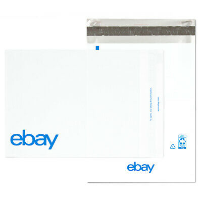 "NEW EDITION eBay-Branded Polymailer Red Green & Blue 14.5"" x 18.5"" (No padding) 2"