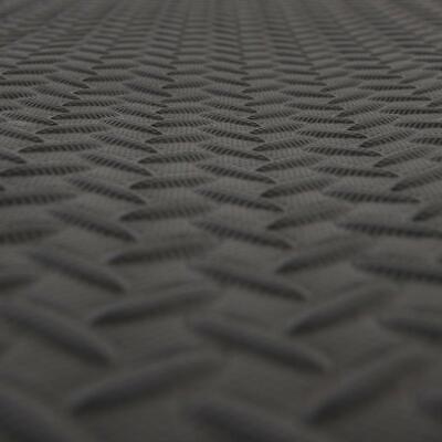 Black Large Soft Foam Floor Mat Playmat Yoga Gym Exercise Gymnastic Fitness Mat 5