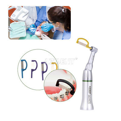 Dental 4:1 Reduction Interproximal Stripping Contra Angle 9 Strips IPR Handpiece 2
