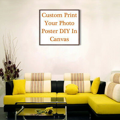 Wall Decor Custom Poster Print Your Photo Canvas Art Posters Home Room DIY Gifts 9