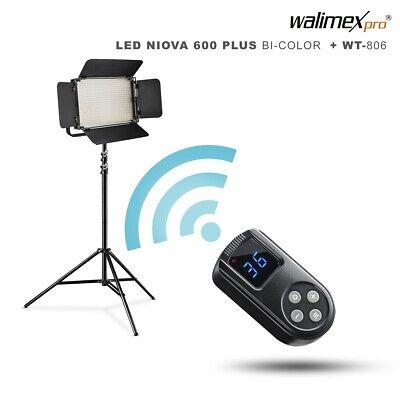 WALIMEX PRO LED Niova 600 Plus Bi Color + WT 806, komplett
