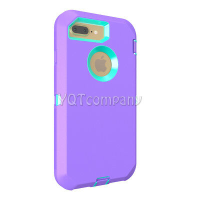 iPhone 7 8 Plus 6S XS Max XR XS X Case Cover Protective Hybrid Rugged Shockproof 3