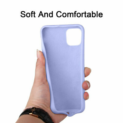 Silicone Case For iPhone 7 8 Plus X XS 11 Pro Max Full Protection Soft TPU Cover 5