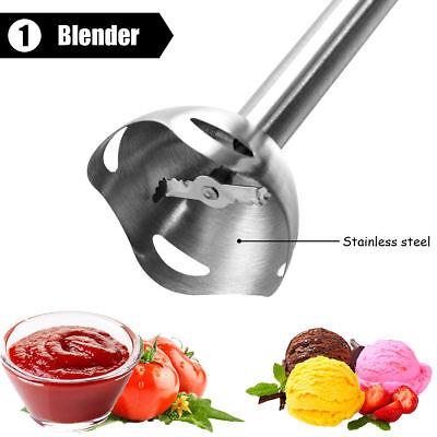 800W Mixeur Plongeant Mélangeur à Main 4 EN1 Hachoir et Fouet cuisine Blender 3