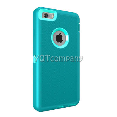 Heavy Duty Shock Proof Defender iPhone SE 5S 5 Case Cover with Screen Protector 4
