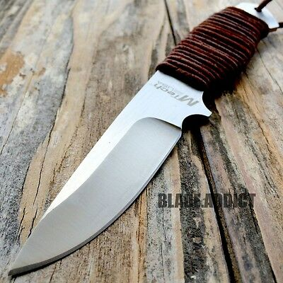 """8"""" MTECH Military SURVIVAL Tactical Fixed Blade Hunting Camping Knife + Sheath 4"""