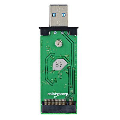 USB 3.0 to M.2 SSD Enclosure Case for NGFF B Key Hard Disk B+M Key M2 SATA SSD 5