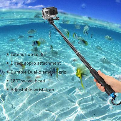 Selfie Pole Extendable Telescopic Monopod Stick for GoPro Hero 5 4 3+ 3 2 Camera 7