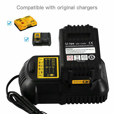 Replace Dewalt DCB182 DCB184 18V 5.0Ah XR Li-Ion Battery To Fit DCB181 DCD780 UK 7