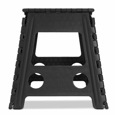 Multi Purpose Plastic Folding Step Stool Home Kitchen Easy Storage Foldable Seat 9