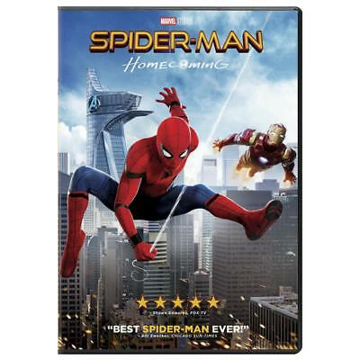 Spider-Man: Homecoming (DVD, 2017) NEW 2