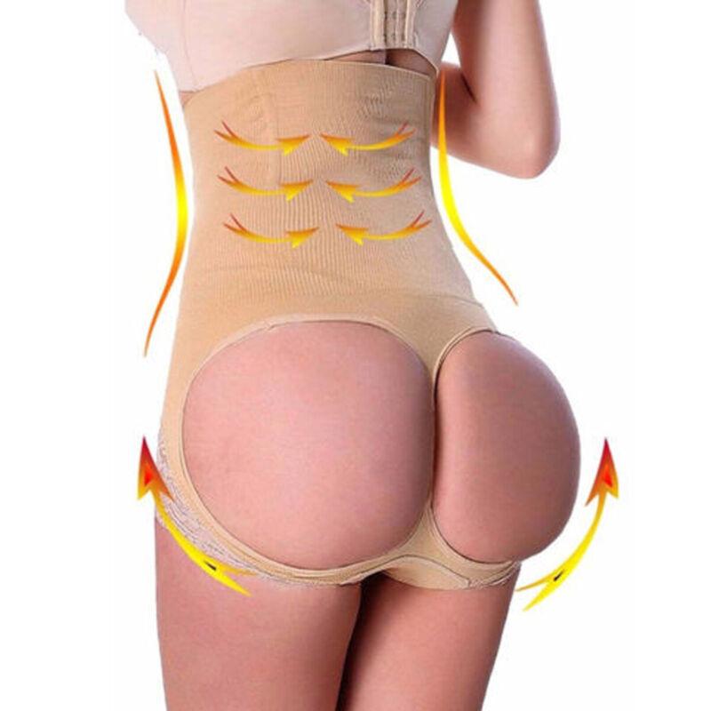 Women Slim Waist Trainer Cincher Body Shaper Panty Butt Lifter Underwear Corset 4