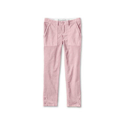 LANDS END Girls Corduroy Trousers Pencil Cord Adjustable Waist 5-6 6-7 9-10 Year 3
