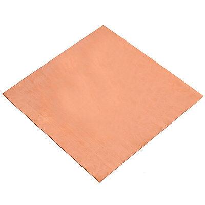 1PC 99.99% Pure Copper Cu Metal Sheet Plate 0.8mm*100mm*100mm 2